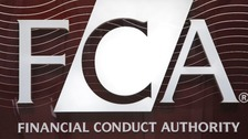 The logo of the Financial Conduct Authority.