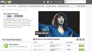 Tickets are already available for around £1,000 on sites such as viagogo.