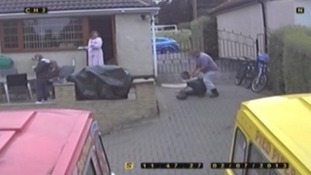 CCTV captured the abuse Craig Kinsella suffered