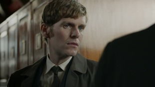 Shaun Evans in a scene from the new series of Endeavour