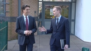 On the road: Calendar's day with Ed Miliband