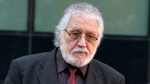 Dave Lee Travis pictured outside Southwark Crown Court last month.