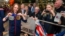 Jade Etherington won four medals at the Winter Paralympics in Sochi