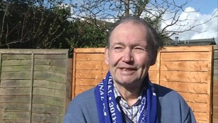 Peterborough United supporter Ray Stratton