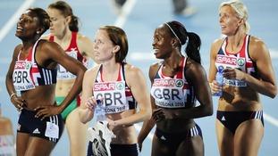 Athletics team in Barcelona 2010
