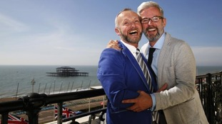 First couples wed across country in same-sex marriages