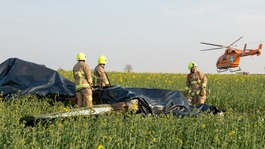 Two dead in Essex light aircraft crash