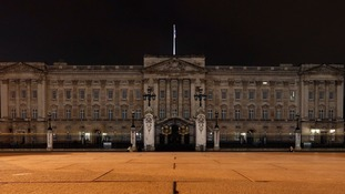 Buckingham Palace was among the famous London landmarks taking part