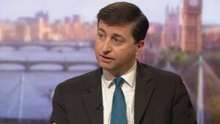 Shadow foreign secretary Douglas Alexander on The Andrew Marr Show.