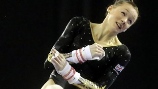 Rebecca Tunney crowned British Gymnastics champion
