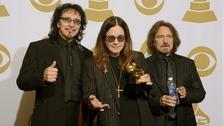 Tony Iommi, Ozzy Osbourne and Geezer Butler of Black Sabbath.