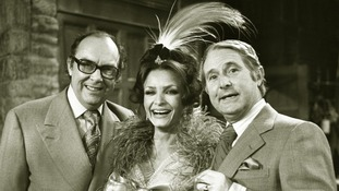 Kate O'Mara appeared on The Morecambe and Wise Christmas Special.