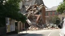 Northern Italy hit by new earthquakes