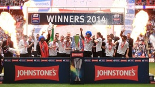 Peterborough United will be hoping for a return to Wembley.