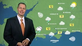 ITV Meridian weather this Monday