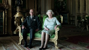 Queen Elizabeth II and The Duke of Edinburgh, Windsor Castle 2011
