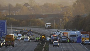 M5 crash inquest: Drivers describe 'wall of thick fog'