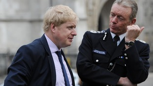 Boris Johnson questions Hogan-Howe's call on positive discrimination in police