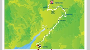 Stage 4 takes cyclists from Worcester to Bristol on Wednesday 10 September 2014.
