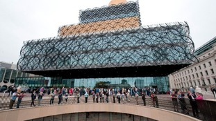 The Library of Birmingham will be lit up in blue for World Autism Day.