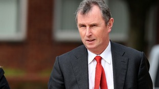 Nigel Evans cross-examined on sex-abuse allegations