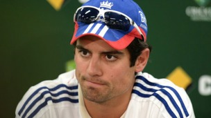 England captain Alastair Cook says that it took a lot of guts to sack Kevin Pietersen.