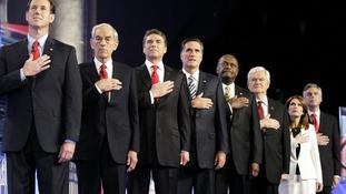 Republican Mitt Romney