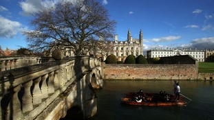 Cambridge house prices higher than London