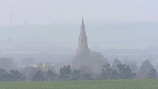 Picture Gallery: East Anglia under a cloud of smog as air pollution levels soar