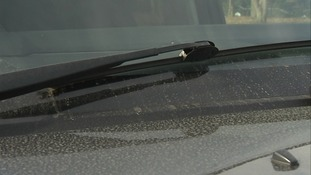 Windscreen wipers were working overtime today.