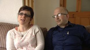 Sarah Pedley and Phil Wills, Josh's parents
