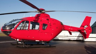 Ready to take flight: The new Midlands Air Ambulance chopper