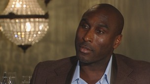 Sol Campbell has highlighted the lack of black people in the upper echelons of football.