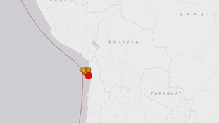 Chile feels nearly 30 earthquakes in 24 hours