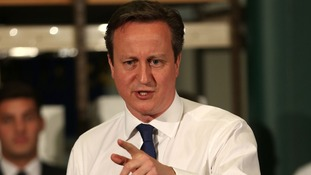 Prime Minister David Cameron to make announcement at Birmingham Airport