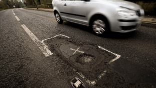 It is thought that it will cost £167million to fill potholes across the Midlands