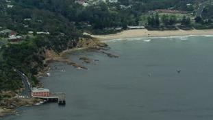 Tathra is located 340 kilometres (210 miles) south of Sydney.