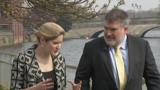 ITV News Anglia's Lauren Hall talks to the Mayor of Bedford Borough, Dave Hodgson.