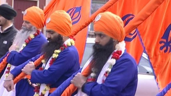 Sikh Vaisakhi celebrations