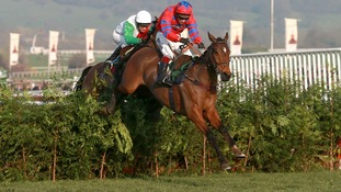 Richard Johnson will be hoping he can replicate his Cheltenham win on Balthazar King