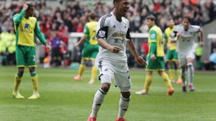 Norwich City were well beaten at Swansea.