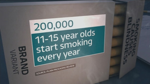 Six hundred children take up smoking each day, research indicates.