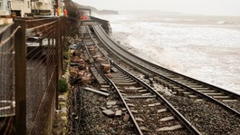 Storm-wrecked Dawlish rail line reopens
