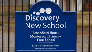 Discovery New School in Crawley, West Sussex, is due to close its doors today.