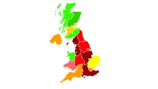 The air pollution is expected to ease today.