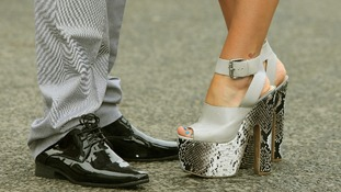 Many of the ladies went all out in the fashion stakes from head to toe.