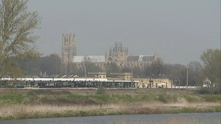 Ely Cathedral, 'the Ship of the Fens'.