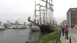 Tall ships stop in Ipswich