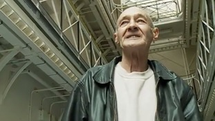 Paddy Hill at the old prison in Lancashire
