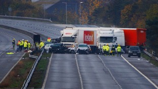 M5 crash inquest: Train driver recalls 'weird' fog